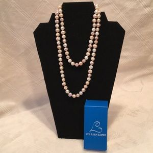 Colleen Lopez Cultured Pearl Necklace